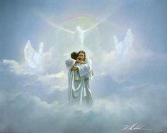JESUS IN HEAVEN PAINTING