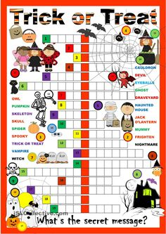 Halloween Crossword Puzzle