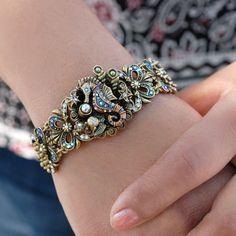 Seahorse Bracelet Seahorse Jewelry by ShelleyCooperJewelry on Etsy