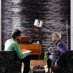 Birkenrinde Wall Mural design by Komar for Brewster Home Fashions