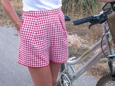 Short retro de Bee made | Burda Addicts _Burda fev 2013