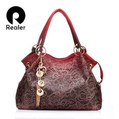 REALER brand women bag hollow out ombre handbag floral print shoulder bags ladies pu leather tote bag red/gray/blue   Tag a friend who would love this!   FREE Shipping Worldwide   Buy one here---> https://dailysale.store/realer-brand-women-bag-hollow-out-ombre-handbag-floral-print-shoulder-bags-ladies-pu-leather-tote-bag-redgrayblue/