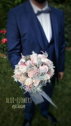 Bridal bouquet in shades of pink powder. Beautiful combination of flowers, David Austin roses, astel Wedding Bouquets, Wedding Flowers, David Austin Roses, Vintage Romance, Our Wedding, Wedding Stuff, Wedding Ideas, Always And Forever, Marriage