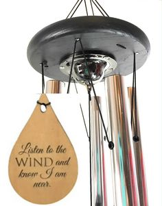 Wind Chime URN Best Seller Memorial Gift Wind Chime Grieving