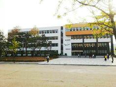 library at Hanyang university, Ansan, Korea