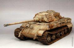 Tiger Ii, Tiger Tank, Model Tanks, Scale Models, Military Vehicles, Porsche, Modeling, German, Miniatures
