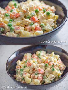 Chicken Potato Salad - Panlasang Pinoy