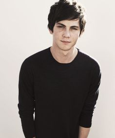 Hello, handsome... Logan Lerman.