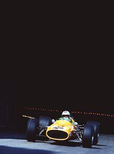 Denny Hulme- McLaren -Monaco1968