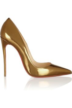 Christian Louboutin | So Kate 120 patent-leather pumps | Sighhhhh!