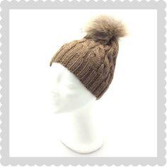 Billede af brun hue med snoninger i MerinoRamie Winter Hats, Beanie, Knitting, Fashion, Knitted Throws, Ribe, Threading, Creative, Moda