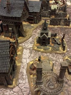 WarbossKurgan: The Haunted Village of Wortbad, in the Harrowmark. Shyish the Realm of Death Warhammer Age Of Sigmar