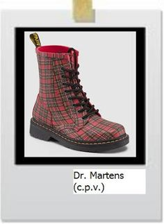 Dr Termans also join the tartan print.