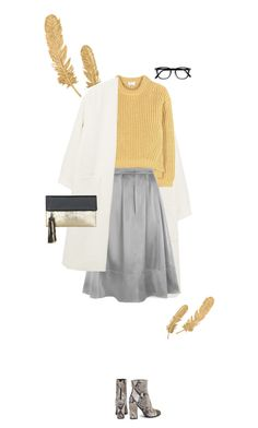 """Untitled #548"" by fanfan-zheng on Polyvore featuring MANGO, Acne Studios, HotSquash, Just Cavalli and BeckSöndergaard"