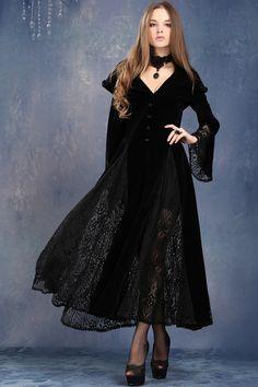 Vampire Gothic Dress Coat by Dark in Love