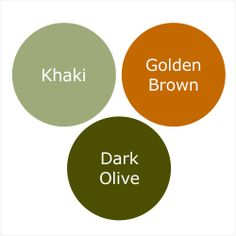 How To Wear Dark Olive For A Shaded Spring (Warm Spring)