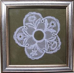 Honiton sampler, Elsie Luxton design, made by Marion Eaton Lace Design, Pattern Design, Bobbin Lacemaking, Point Lace, Linens And Lace, Needle Lace, Lace Making, Lace Flowers, Doilies