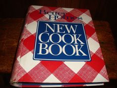 Vintage Better Homes & Gardens New Cook Book 1989 Excellent