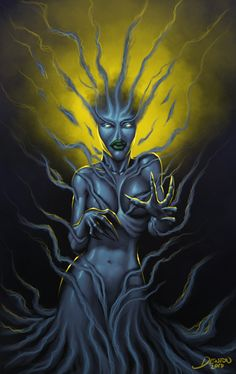 Mormo- Greek myth: a spirit that accompanied Hecate. The grief of losing her own children turned her into a monster and led her to bite and steal misbehaving children.