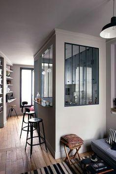 séparation cuisine salon | maison bois | pinterest | petites ... - Agencement Cuisine Nice