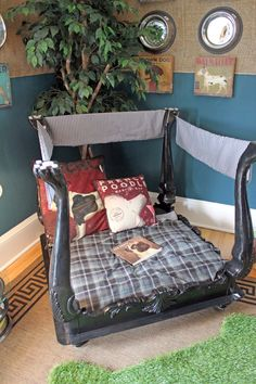 Better After doggie bed from an old table For the Home