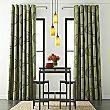 Ramona Faux-Silk Rod-Pocket Curtain Panel - jcpenney