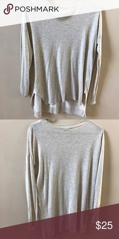 ADDITONAL 50% OFFBeige Sweater with Slitted Sides Great Condition! H&M Dresses