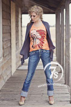 The Tacoma – Savannah Sevens Western Chic