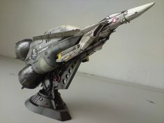 1/72 Model VF-1S w/ Booster Rocket. Launch Arm too!