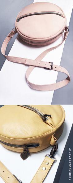 46d2d7f684aba SCHNITTMUSTER Circle Bag    Die Circle Bag funktioniert tagsüber zu  lässigen Outfits und als trägerlose
