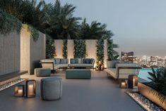 Cozy Backyard, Modern Backyard, Modern Outdoor Furniture, Patio Furniture Sets, Outdoor Lounge, Outdoor Living, Outdoor Decor, Outdoor Areas, Design Lounge