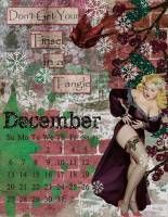 Messy Bessies Art Plate December Calendar and Dear Santa kit, both by 2 Curly Headed Monsters Designs at Mischief Circus