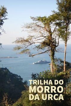 Trilha que dá acesso ao Morro da Urca. Uma trilha simples que possibilita uma das melhores vistas do Rio de Janeiro.