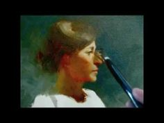"""Valinique"" alla prima oil painting demo from Tan's Fine Art Studio, by Zimou Tan - YouTube"