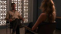 "Burn Notice 2x10 ""Do No Harm"" - Michael Westen (Jeffrey Donovan) & Carla (Tricia Helfer)"