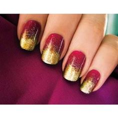 Gryffindor nails! nerding out