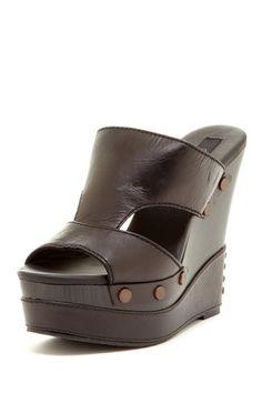 Calvin Klein Bia Slip-On Wedge Sandal on HauteLook Great for me...make me TALLER!  :-)