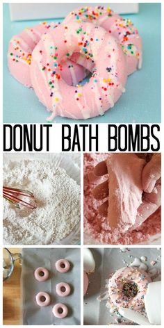 The perfect Lush inspired DIY bath bombs for your self car… DIY donut bath bombs. The perfect Lush inspired DIY bath bombs for your self care routine or homemade gifts. Learn how to make donut shaped… Continue Reading → Donut Diy, Diy Donuts, Donut Gifts, Donut Party, Pot Mason Diy, Mason Jar Crafts, Diy Hanging Shelves, Floating Shelves Diy, Diy Home Decor Projects