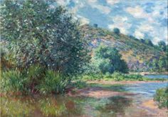 Landscape at Port-Villez - Claude Monet
