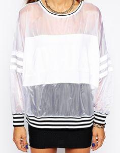 Enlarge Adidas Originals Sheer Sweatshirt