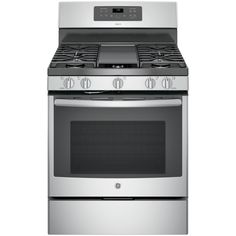 GE Adora 5.0 cu. ft. Gas Range with Self-Cleaning Convection Oven in Stainless Steel