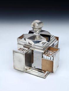 'Rotating' Art Deco Cigarette Box by Asprey