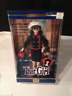 BNIB~ NEVER REMOVED ~2002 THAT GIRL BARBIE DOLL # 56705 COLLECTOR EDITION #Mattel