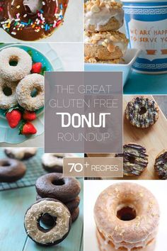 The Great Gluten Free Donut Round-Up {Beard and Bonnet} : I know it's all about pumpkin right now, but all I can thing about is donuts!!! This roundup has over 70 different donuts-all gluten free with some that are also vegan and some that are paleo. Let's stuff our faces with donuts shall we?