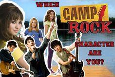 Camp Rock - Personality Quiz