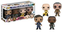Bring the Sorcerer Supreme to your collection with these Doctor Strange Pop! vinyl figures! Limited to 4000 sets, it contains Doctor Strange, Karl Mordo, the Ancient One and Kaecilius, all with spring mounted heads.