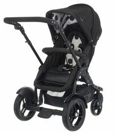 Buy your OBaby Zezu Multi Pramette - Dotty Black from Kiddicare Baby Prams| Online baby shop | Nursery Equipment