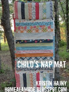 """This would be perfect for the girls I keep or even for traveling - instead of sleeping bags or having to bring a blanket from home.  Then when they """"graduate"""" to kindergarten, they would take it with them (gulp).    #modabakeshop #modafabrics #lovepinwin"""