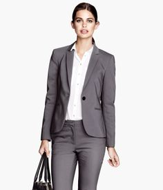 H & M Women Dress Collection 2015 Ladies . Office Wear Dresses, Office Dress Code, H&m Fashion, Office Fashion, Blazers, Black Office, Professional Wardrobe, Dress For Success, Dress Codes