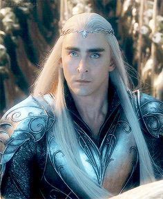 Day 28: seriously, is that even a question - THRANDUIL!!! cos Black  Bandit and Garrett may be sexy but Thranduil is EPIC!!!!